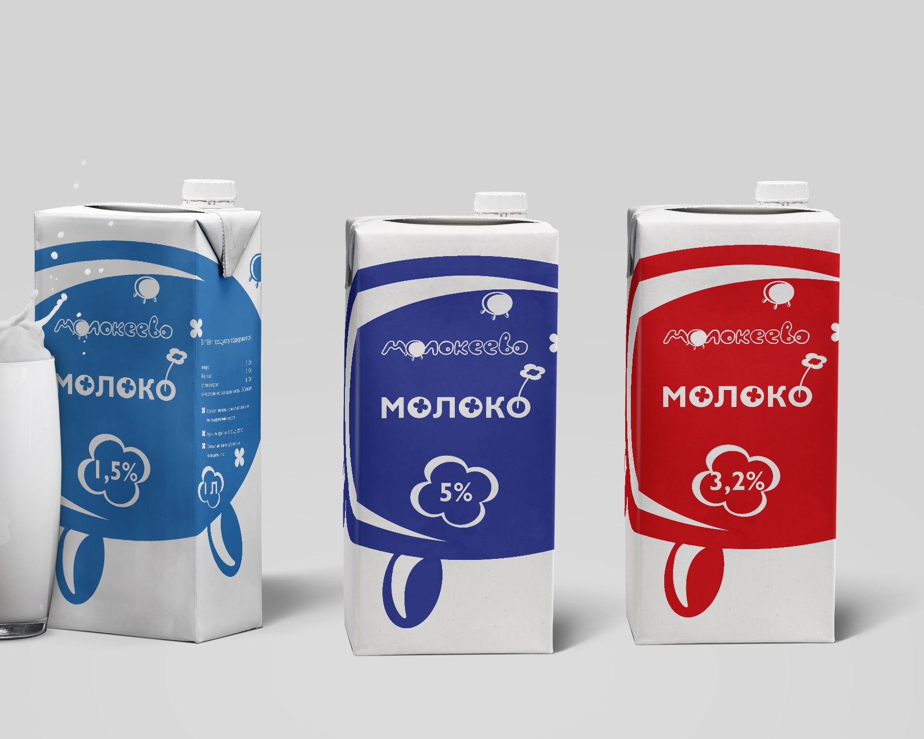 Molokeevo - Milk packaging