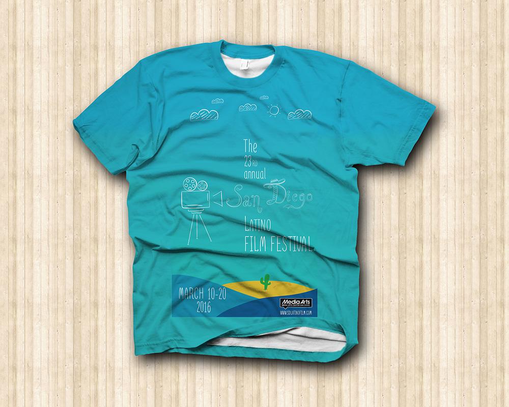 San Diego Latino Film Festival - T-Shirt
