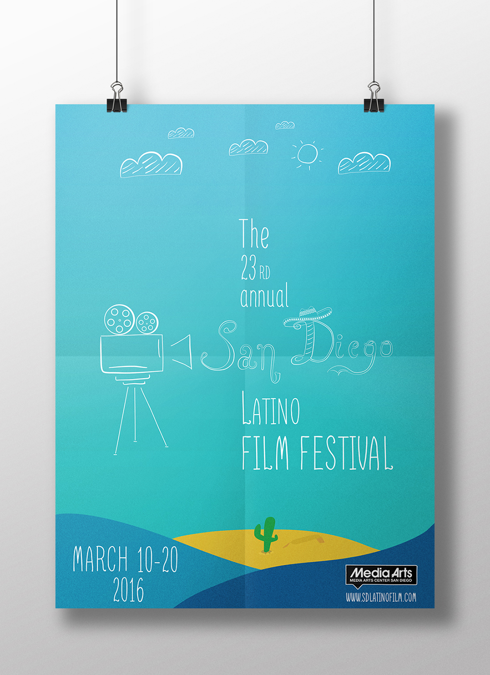 San Diego Latino Film Festival 2015 - Poster Competition