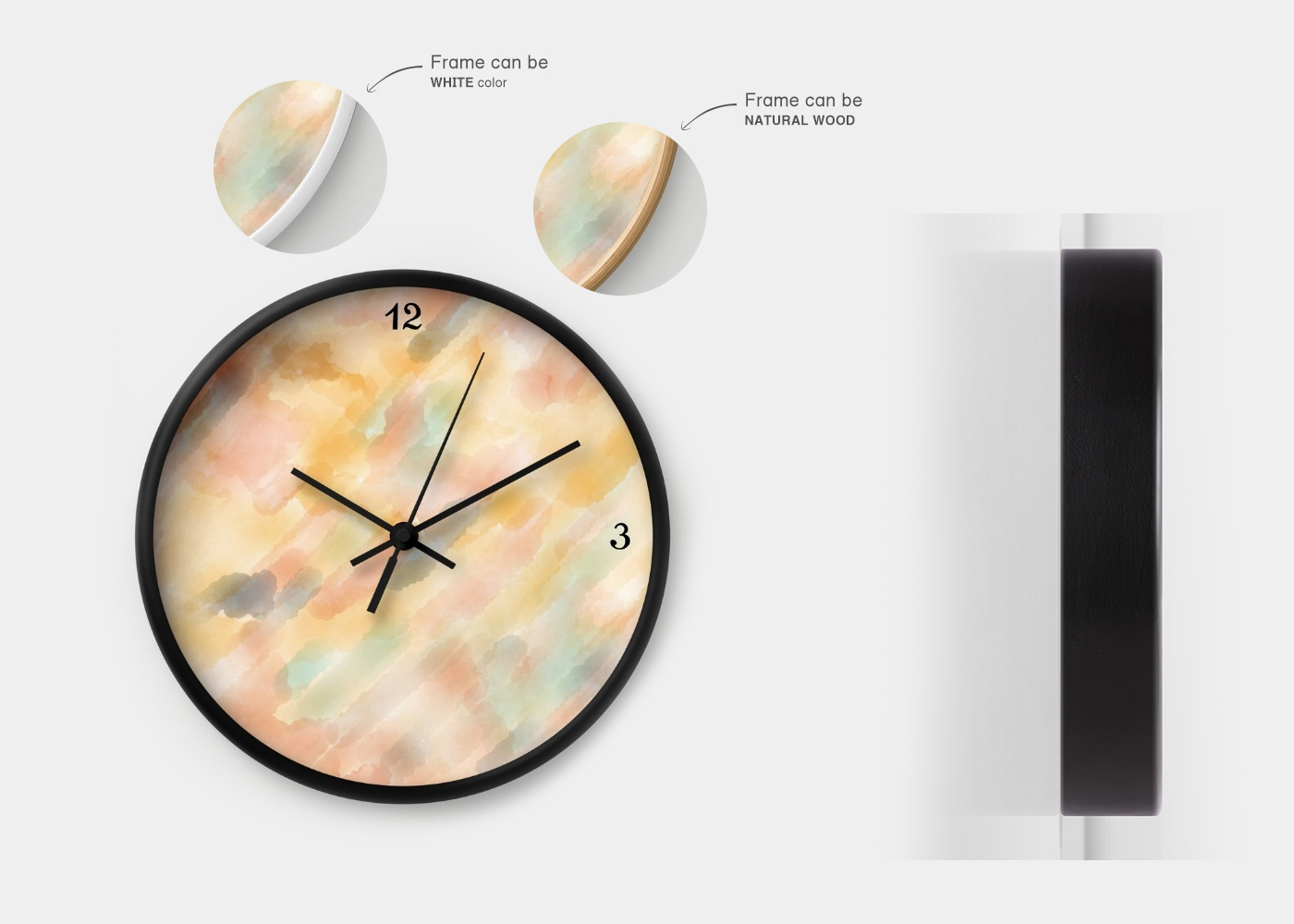 Emotional Balance use for wall clock